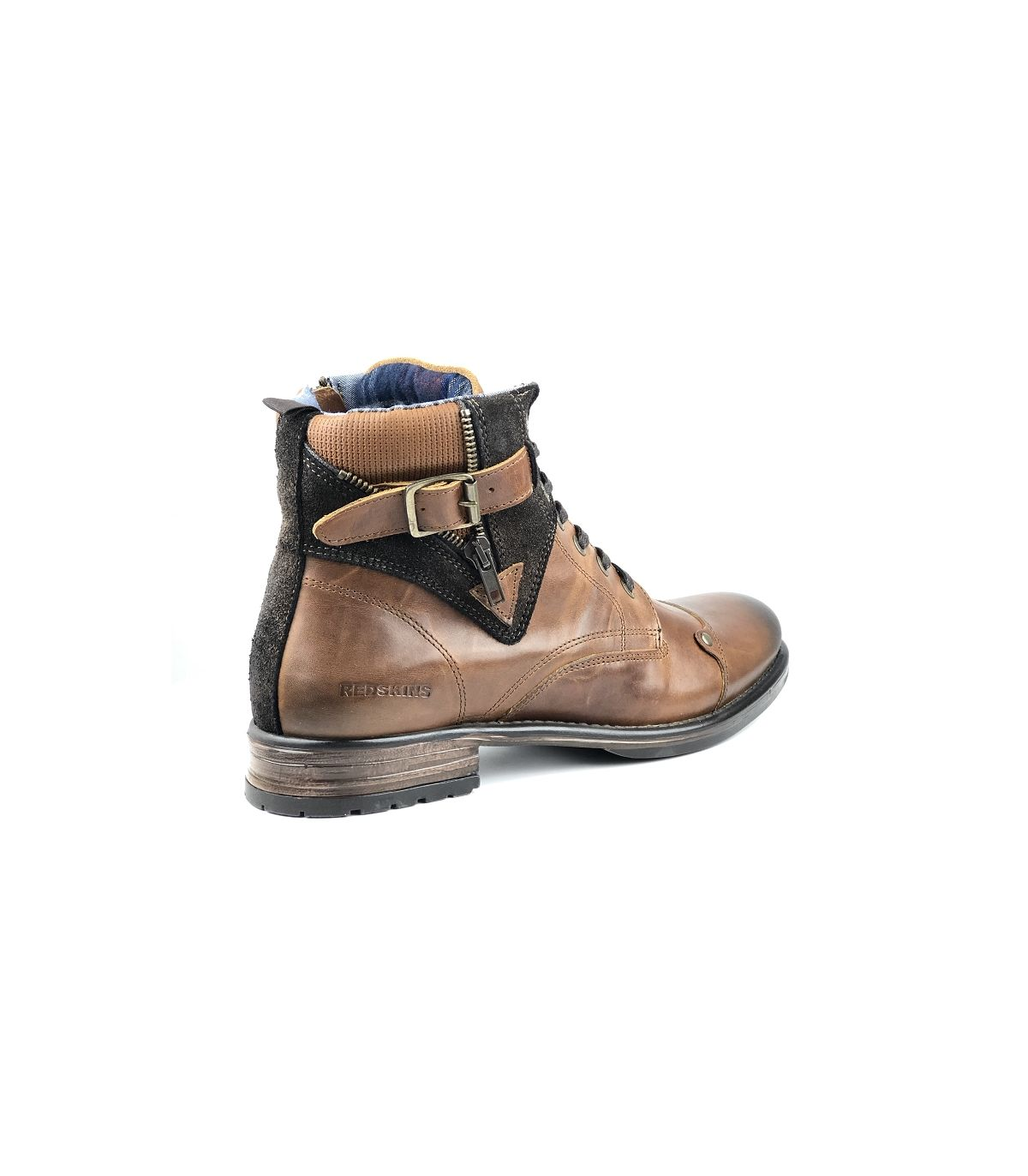 Cuir Chaussures CognacUnivers Chaussures Homme Redskins droCxBWe