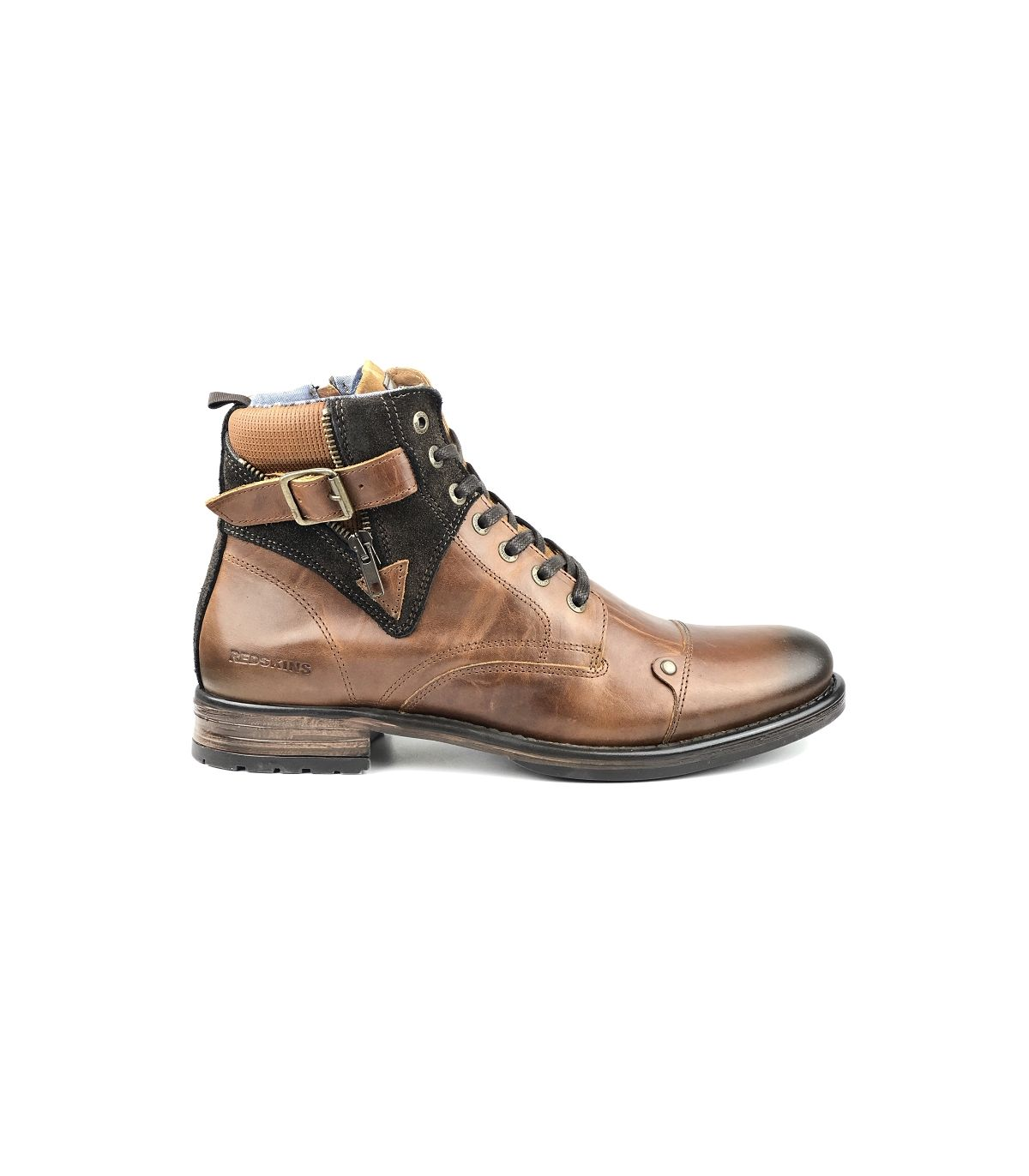 Chaussures CognacUnivers Cuir Chaussures Redskins Homme uwOXZiklPT
