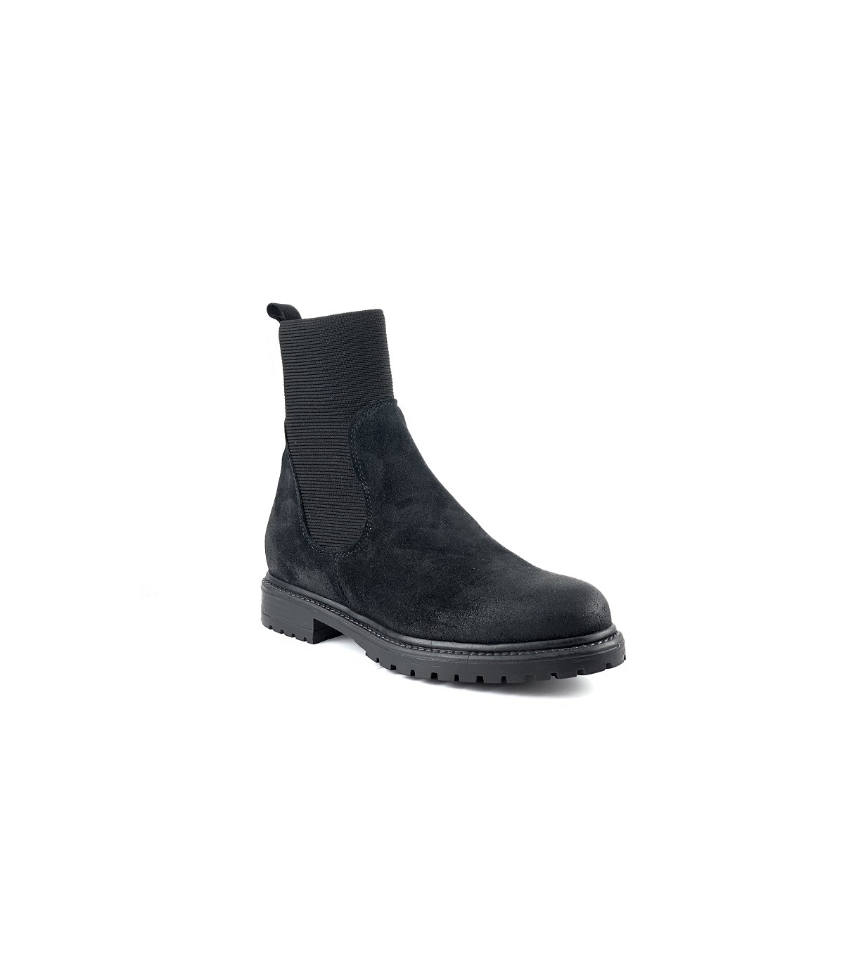 Evelyne NoirUnivers Chaussures Cuir Reqins Bottines Ygbf6yv7